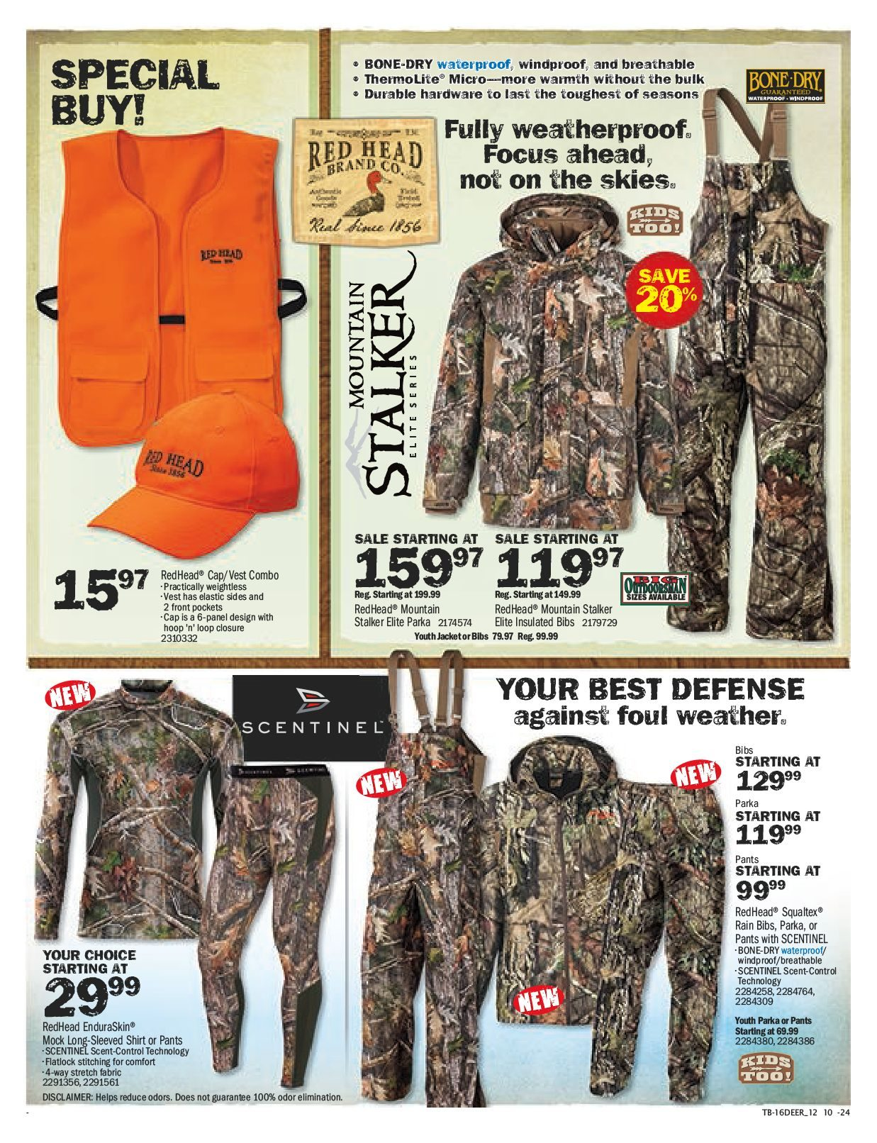 ab624fa8ff050 Bass Pro Shops Weekly Flyer - Vaughan Location Only - Deer Hunting Sale! -  Sep 26 – Oct 23 - RedFlagDeals.com