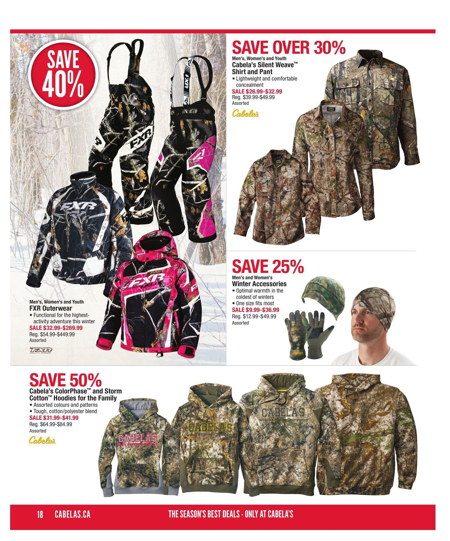 2b04ae74f76b8 Cabelas Weekly Flyer - Holiday Gift Guide 2016 - Nov 17 – Dec 7 -  RedFlagDeals.com