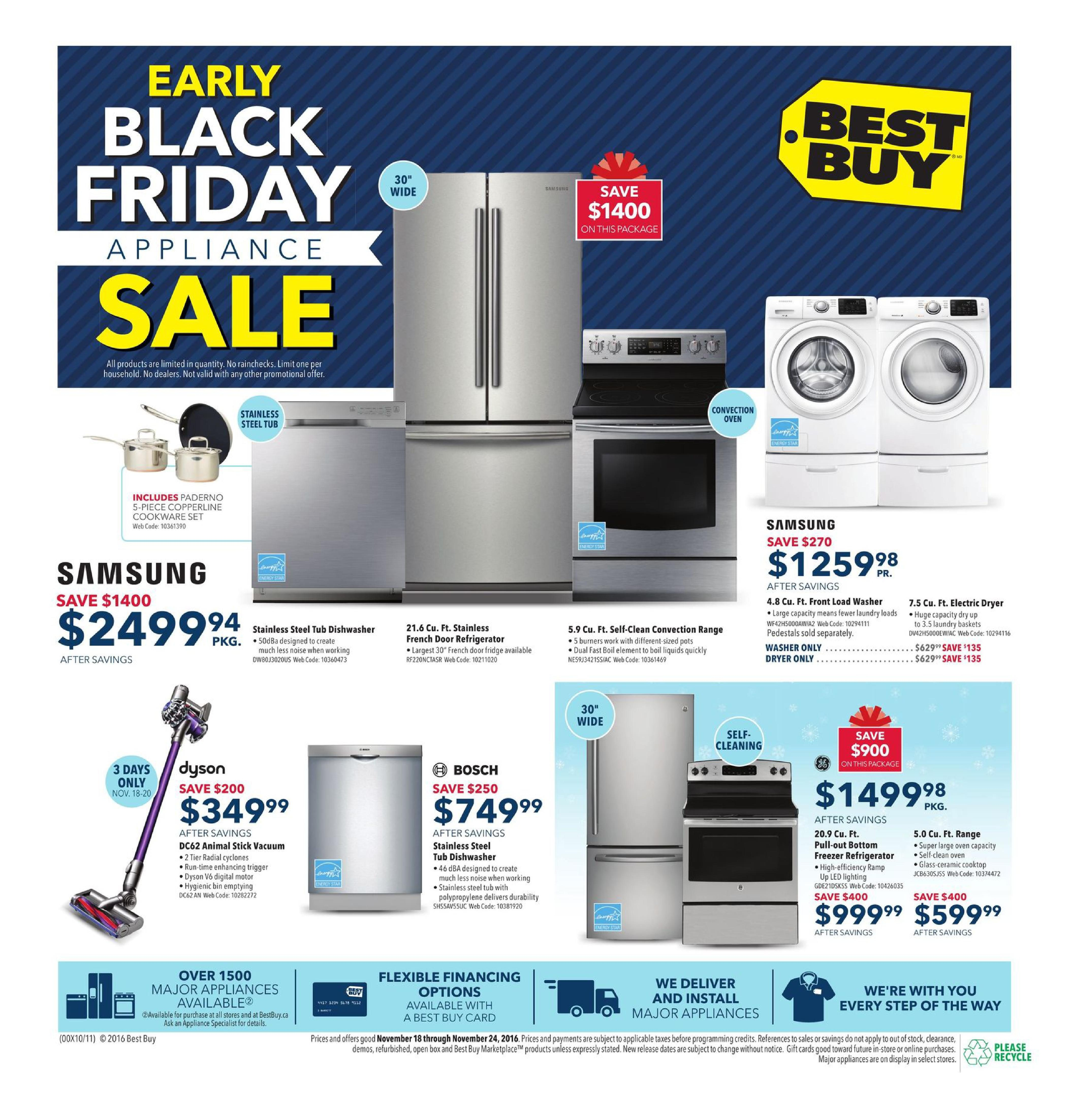 Best buy weekly flyer weekly early black friday appliance sale best buy weekly flyer weekly early black friday appliance sale nov 18 24 redflagdeals fandeluxe Image collections