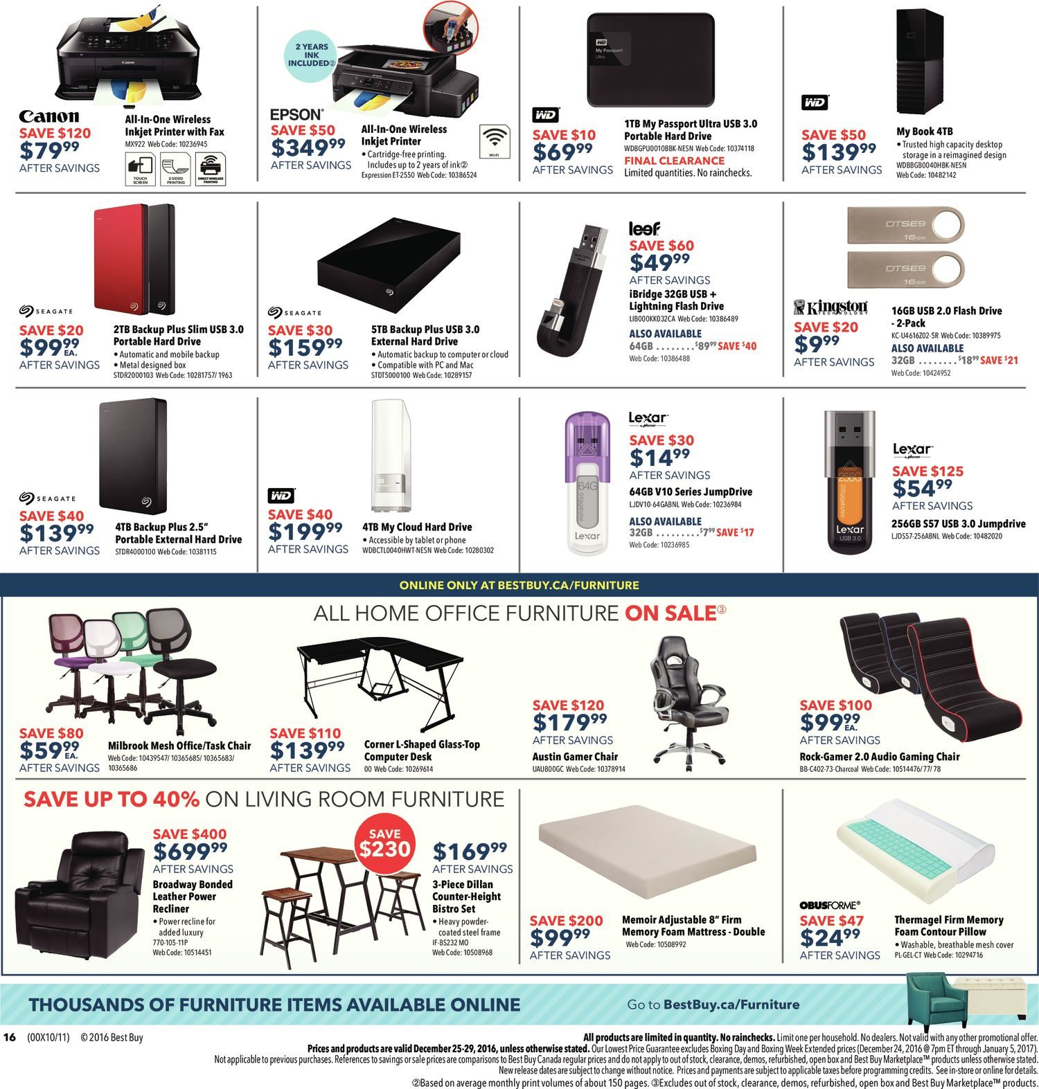 Best buy weekly flyer boxing day sale dec 25 29 redflagdeals fandeluxe Image collections