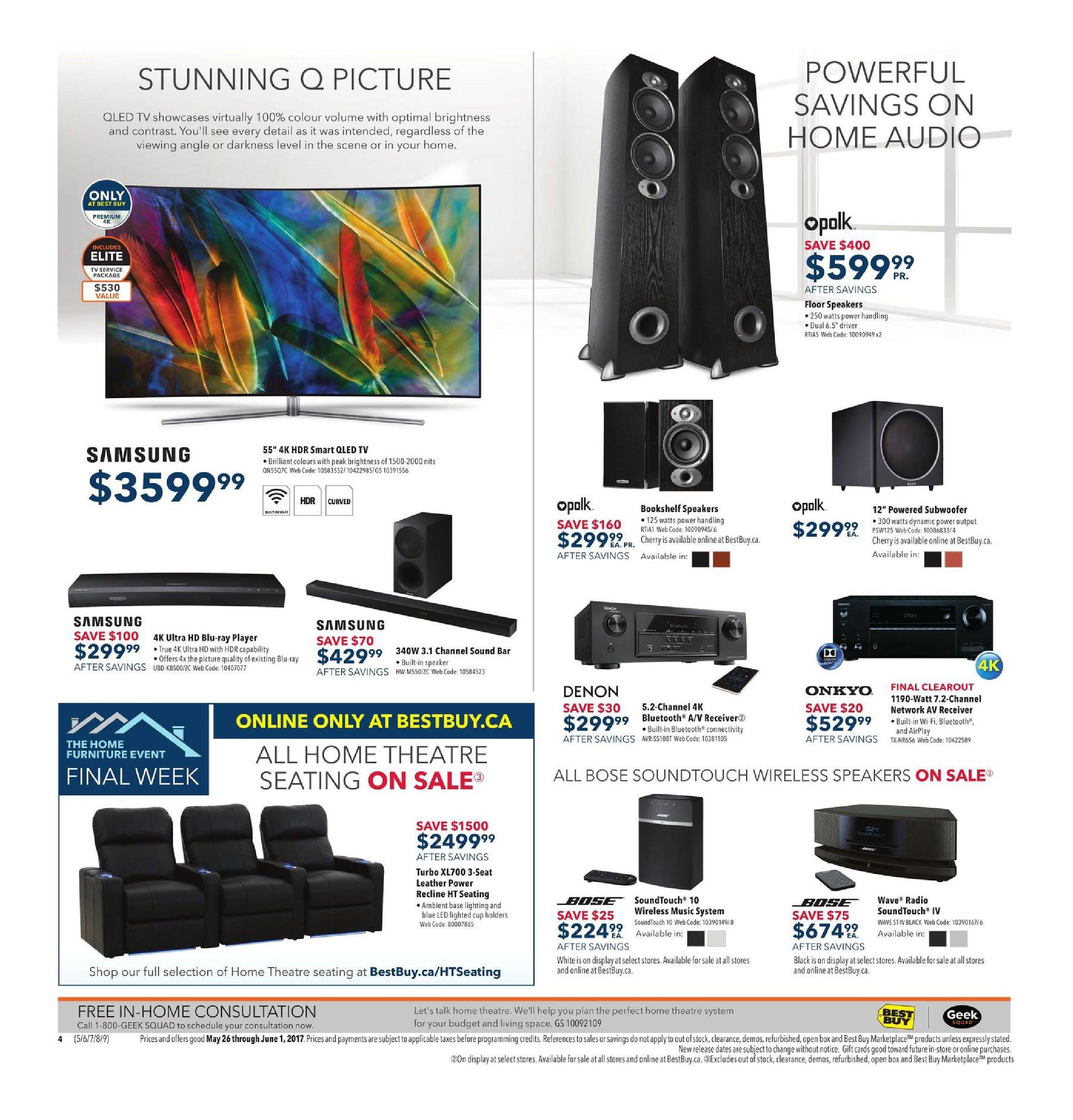 best buy weekly flyer weekly find great savings may 26 jun 1 rh redflagdeals com