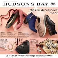 - Weekly - The Fall Accessories Event Flyer
