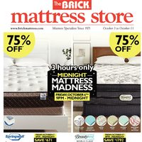- Mattress Store - Midnight Mattress Madness Flyer