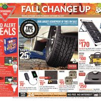 Canadian Tire - Weekly - Fall Change Up Flyer