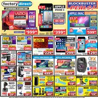 Factory Direct - Weekly - Blockbuster Deals! Flyer