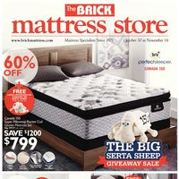 The Brick - Mattress Store - The Big Serta Sheep Giveaway Sale Flyer
