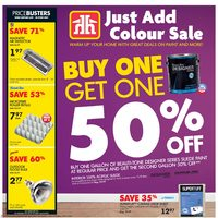 Home Hardware - Just Add Colour Sale Flyer