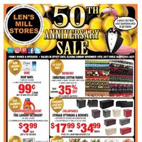 - 50th Anniversary Sale Flyer