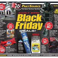 PartSource - Early Bird Black Friday Deals! Flyer