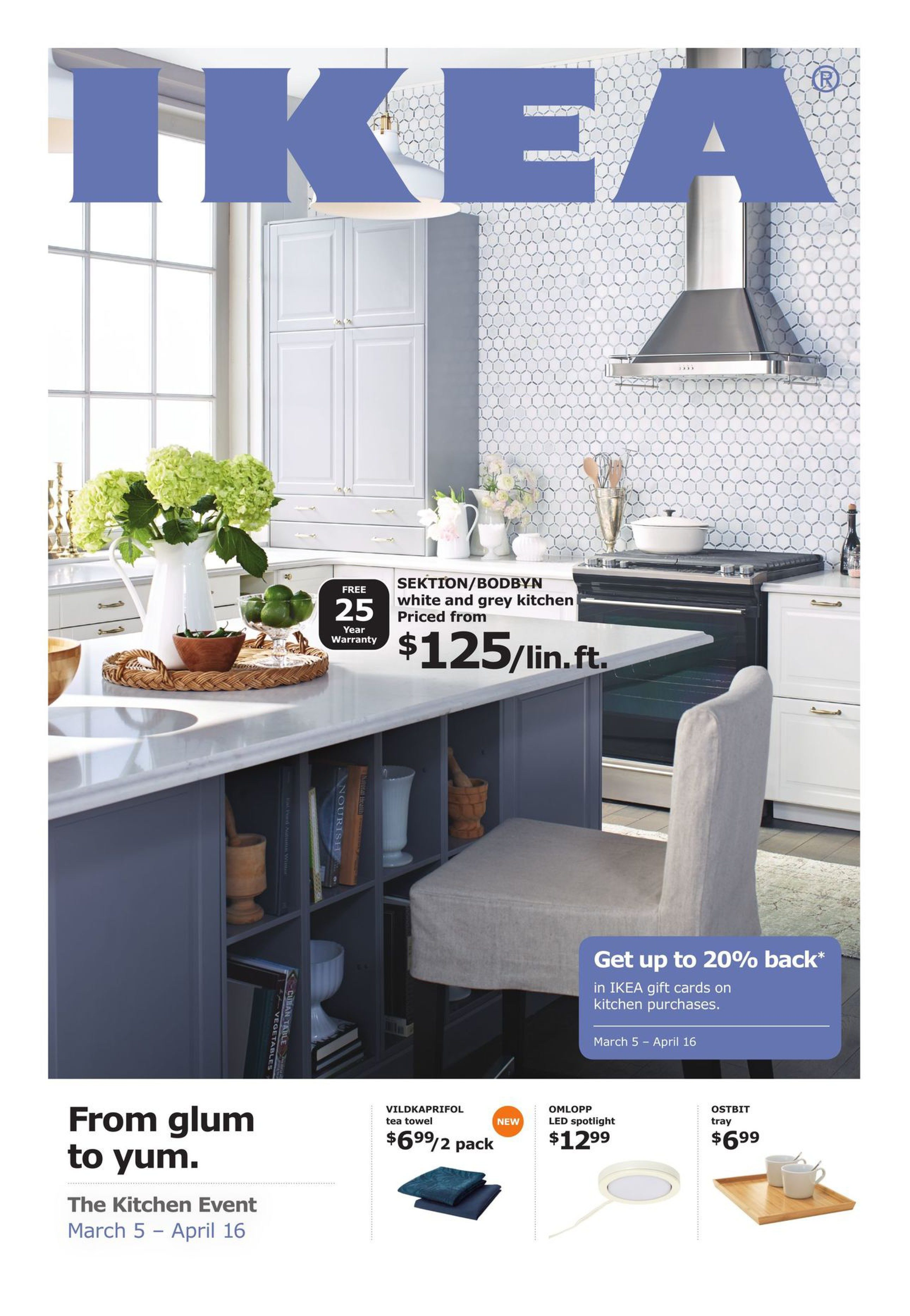 IKEA Weekly Flyer - The Kitchen Event - Mar 5 – Apr 16 ...