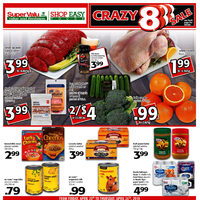 Shop Easy Foods - Weekly Specials - Crazy 8 Sale Flyer