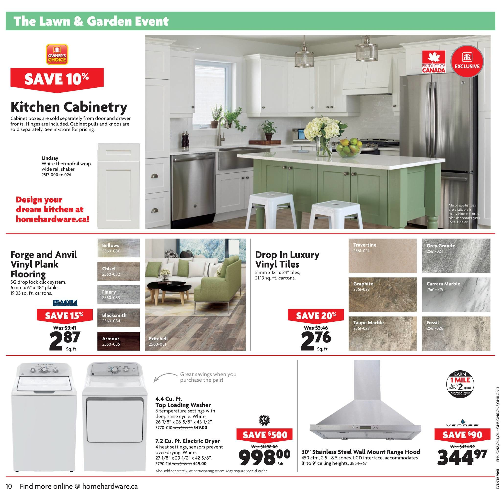 Home Hardware Weekly Flyer - Building Centre - The Lawn & Garden ...