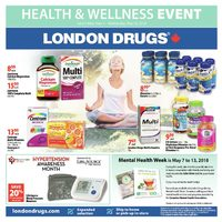 London Drugs - Health & Wellness Event Flyer