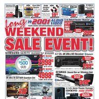 - Weekly - Long Weekend Sale Event! Flyer
