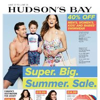 The Bay - Weekly - Super Big Summer Sale Flyer