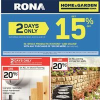 Rona - Weekly Specials Flyer