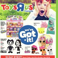 Toys R Us - 10-Day Event - We've Got It! Flyer