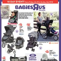 Babies R Us - 10 Day Event! Flyer