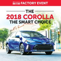 Toyota Canada - Toyota 2018 Factory Event Flyer