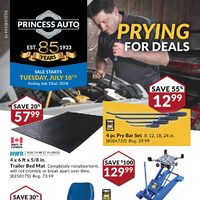 Princess Auto - Prying For Deals Flyer