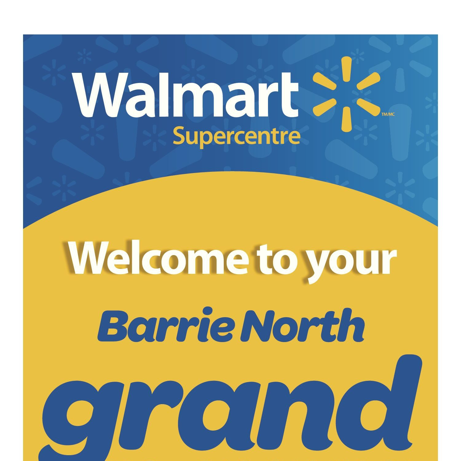 Walmart Weekly Flyer Barrie North Supercentre Grand Re Opening