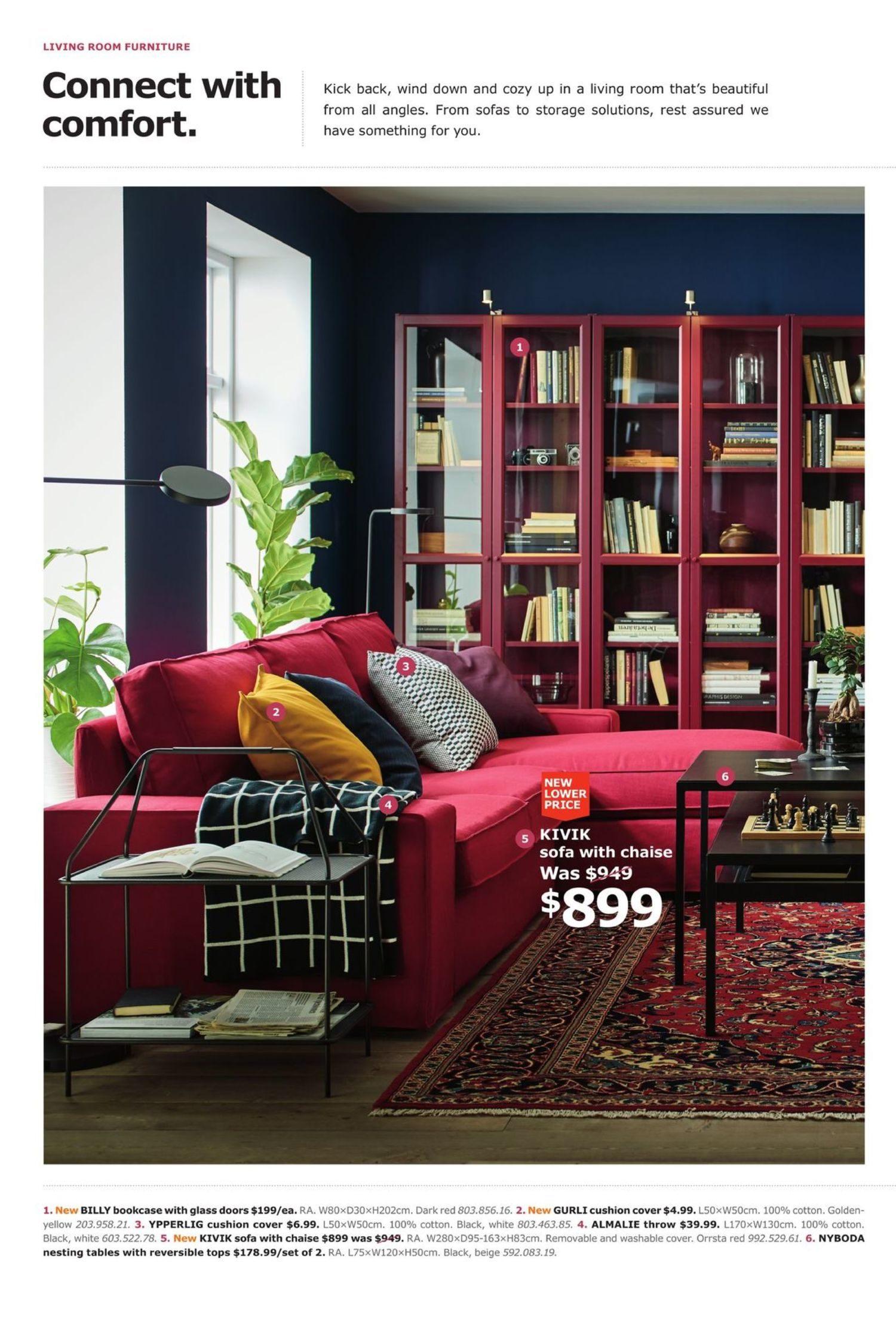 Ikea Weekly Flyer Refine Your Unwind Aug 27 Sep 30