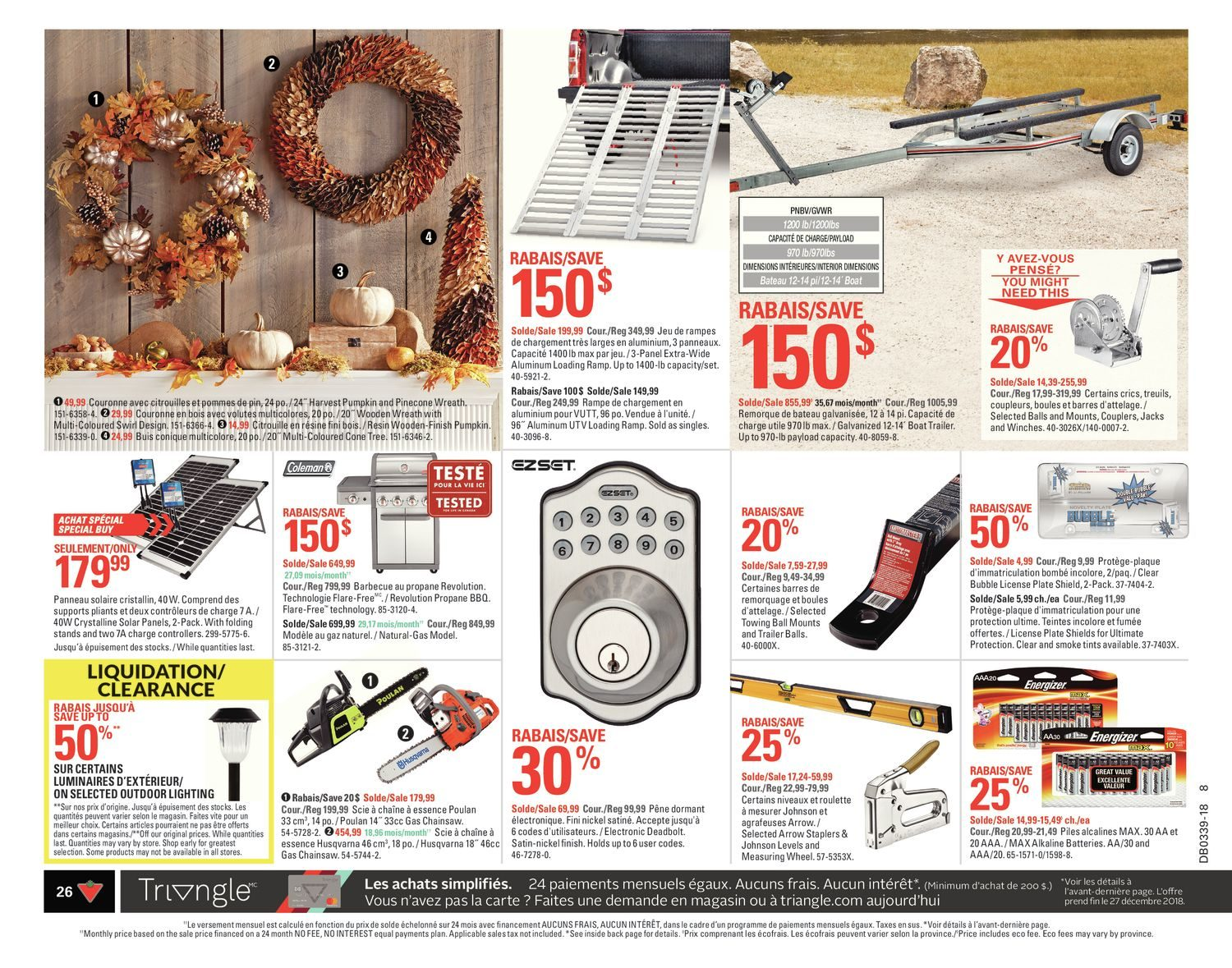 Canadian Tire Weekly Flyer - Weekly - All For Fall - Sep 20