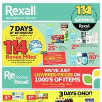 Rexall - Weekly - 114th Anniversary Savings Flyer