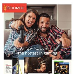 The Source - 2 Weeks of Savings - Get Your Hands On The Hottest in Gaming Flyer