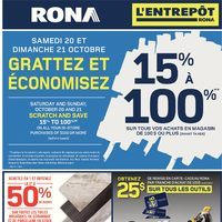 Rona - Home & Garden - Scratch and Save Flyer
