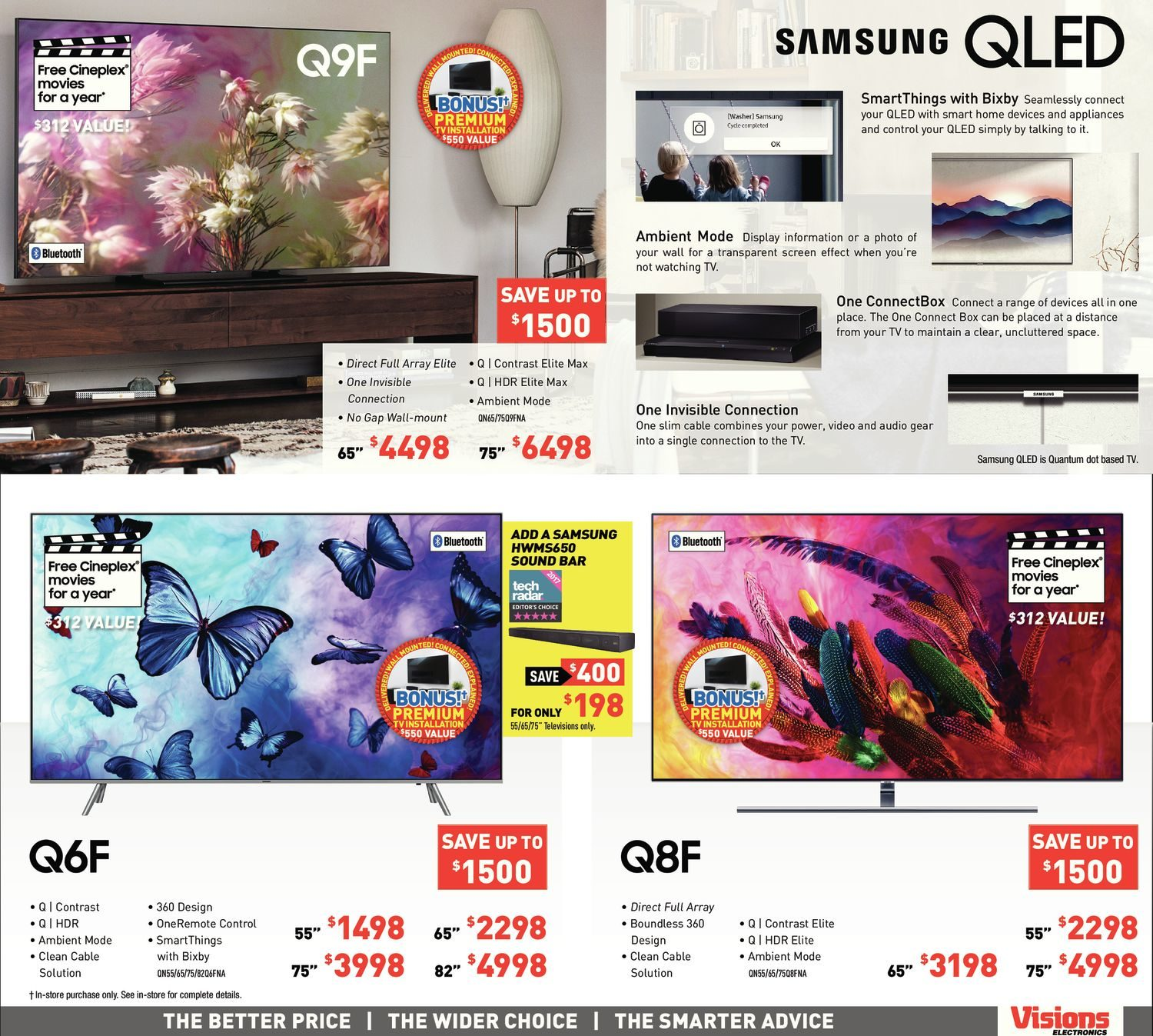 Visions Electronics Weekly Flyer - Weekly - Monster Sale - Oct 26