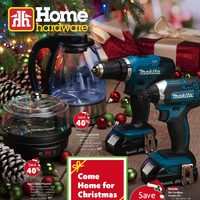 Home Hardware - Come Home For Christmas Flyer