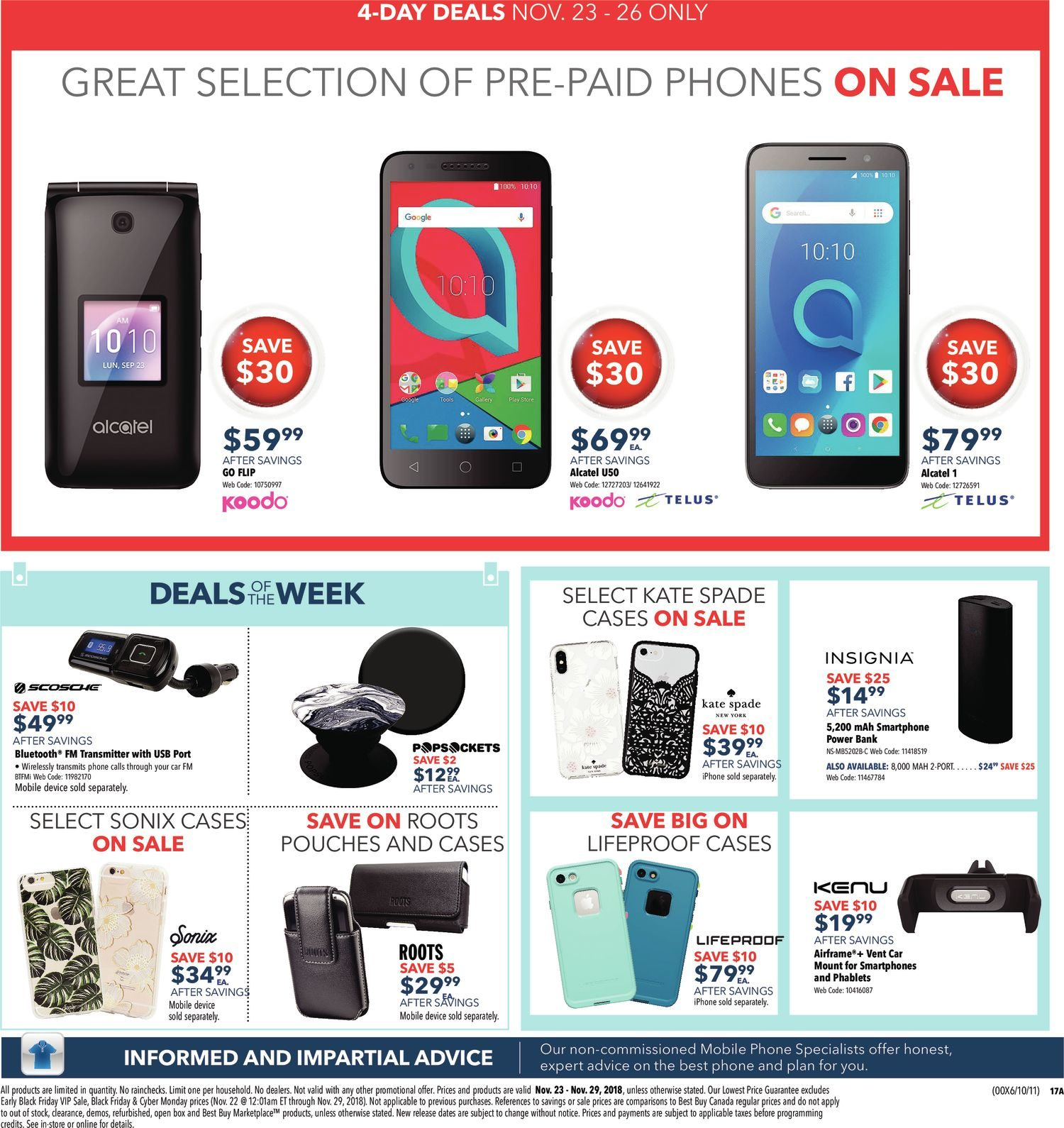 Best Buy Weekly Flyer - Weekly - Black Friday Sale - Nov 23 – 29