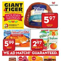 Giant Tiger - Weekly - Early Black Friday Deals Flyer