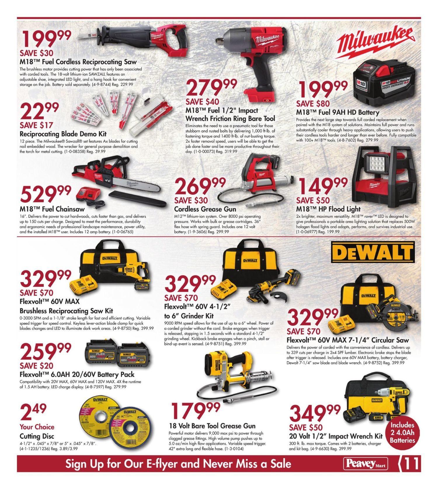 PeaveyMart Weekly Flyer - Christmas Gift Ideas - Nov 30 – Dec 10
