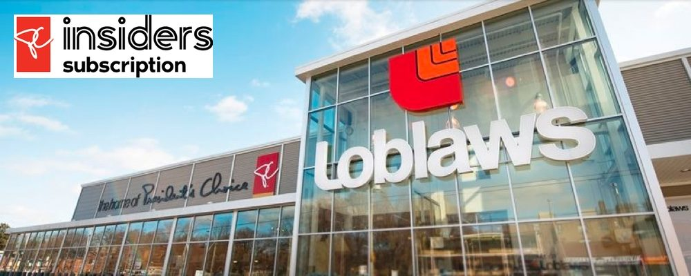 Loblaw Launches New PC Insiders Paid Loyalty Program Across Canada