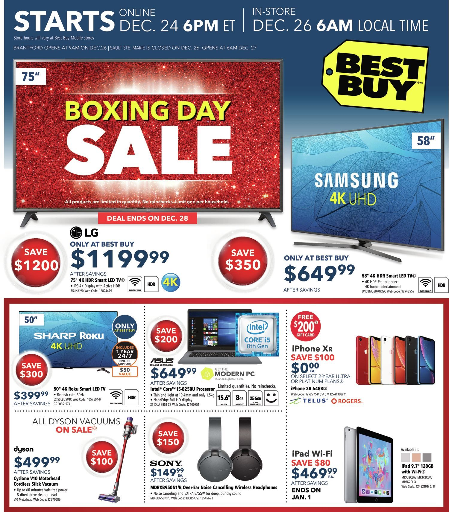 redflagdeals boxing day 2019