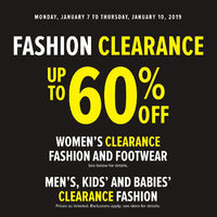 - Fashion Clearance Flyer