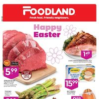 Foodland - Weekly - Happy Easter Flyer
