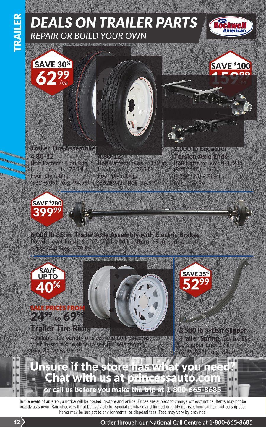 Princess Auto Weekly Flyer - 2 Week Sale! - Heavy Duty Deals
