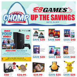 EB Games - Chomp Up The Savings Flyer