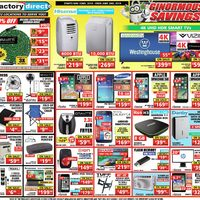 Factory Direct - Ginormous Savings! Flyer