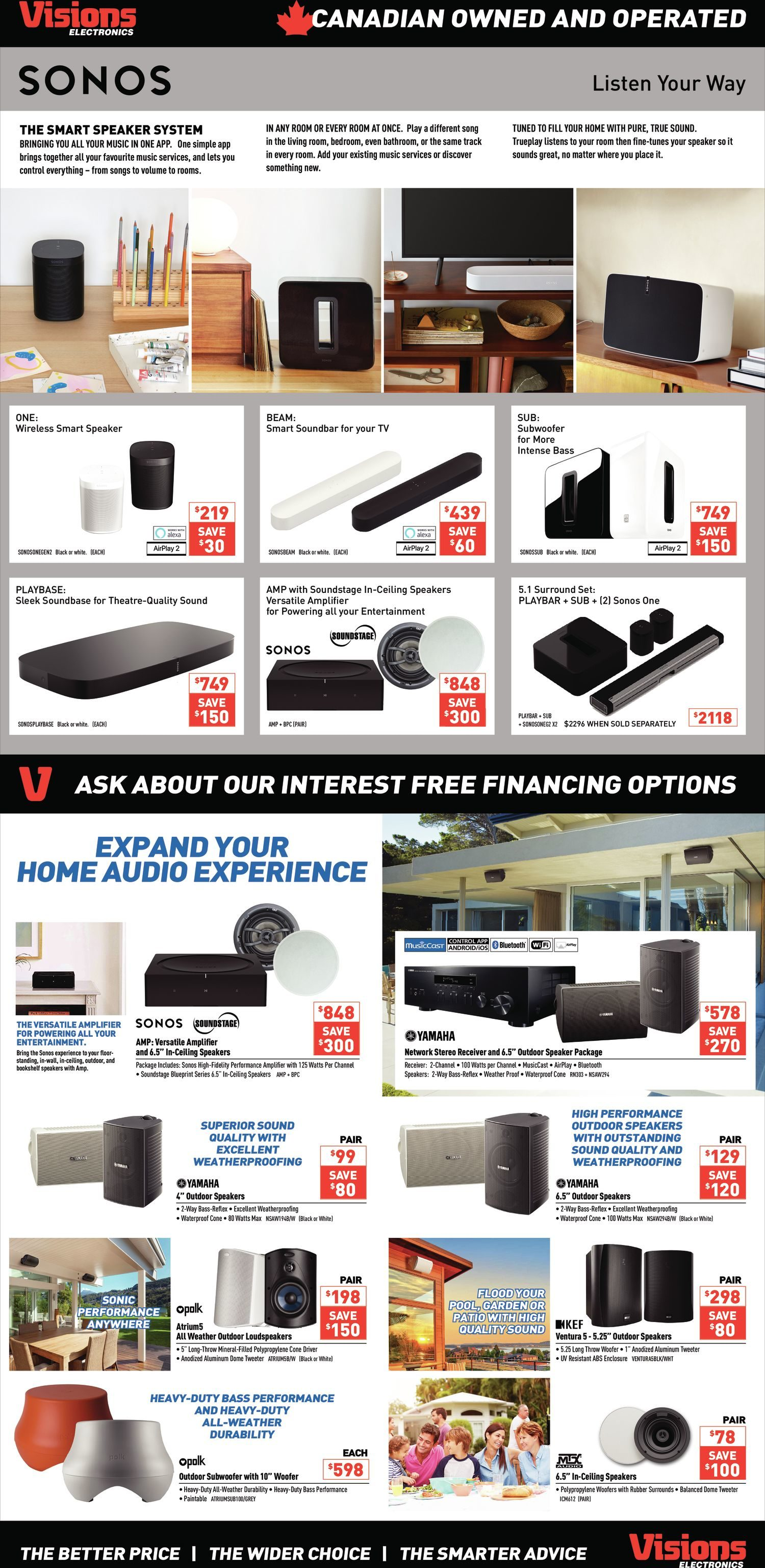 Visions Electronics Weekly Flyer - Weekly - Deals for Dad - Jun 7