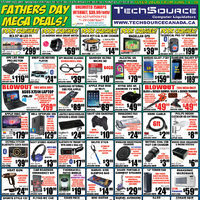 Tech Source - Father's Day Mega Deals! Flyer