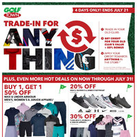 Golf Town - 2 Weeks of Hot Summer Savings! Flyer