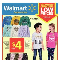 Walmart - Supercentre - Back To School Shopping Flyer
