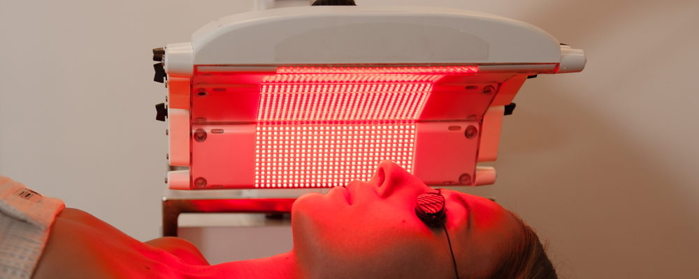 Red Light Therapy for Sun Damaged Skin