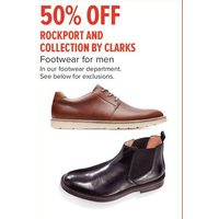 Rockport And Collection By Clarks Footwear For Men