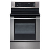 "LG 6.3 Cu. Ft. 30"" Smooth Top Electric Range"