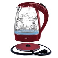 1.7L Cordless Illuminating Glass Kettle